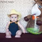 Crochet Cowboy Overalls Pa..