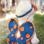 Crochet Butterfly Wings, D..