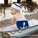 Anchor Diaper Cover, Sailo..